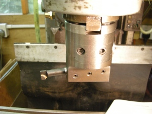 Boring head with cutter horizontal - 206