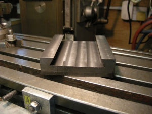 Female part of the dovetail - 34