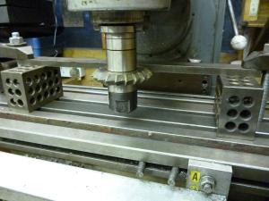 438 machining v slots