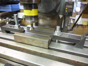 final machining of female part - 497