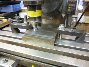 Machining the male part - 498