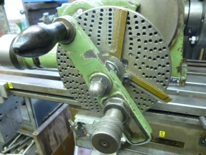 Handle on dividing head - 568
