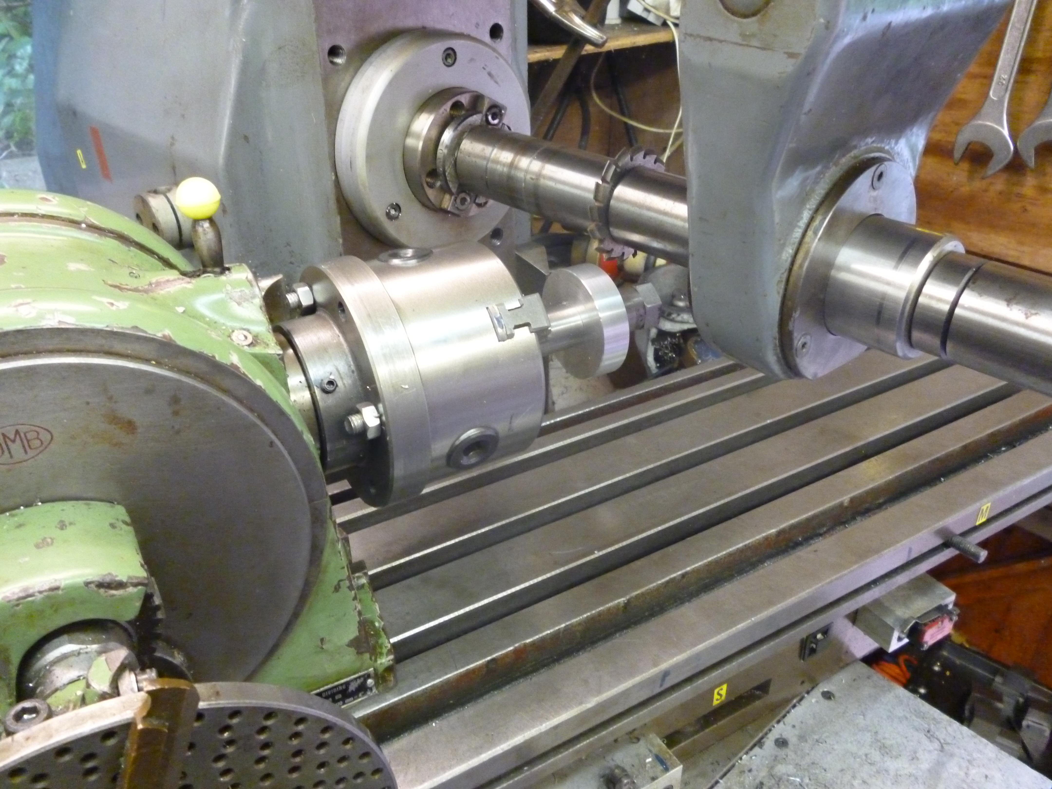 Making Spur Gears Using A Dividing Head John5293
