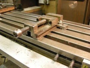 Special clamp for toolmaker's vice - 207