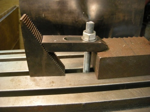 215 clamping with stepped block