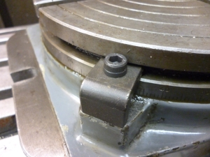 Locking a rotary table - 53