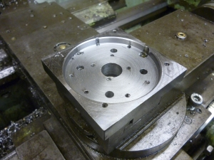 bottom plate of four way toolpost - 942