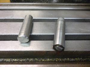 745 Spigots for aligning a round horizontal workpiece