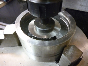 800 making a groove inside a cylinder using a slitting saw 1