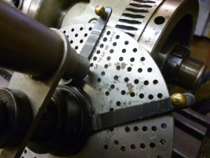 1023 Dividing head at start of first tooth