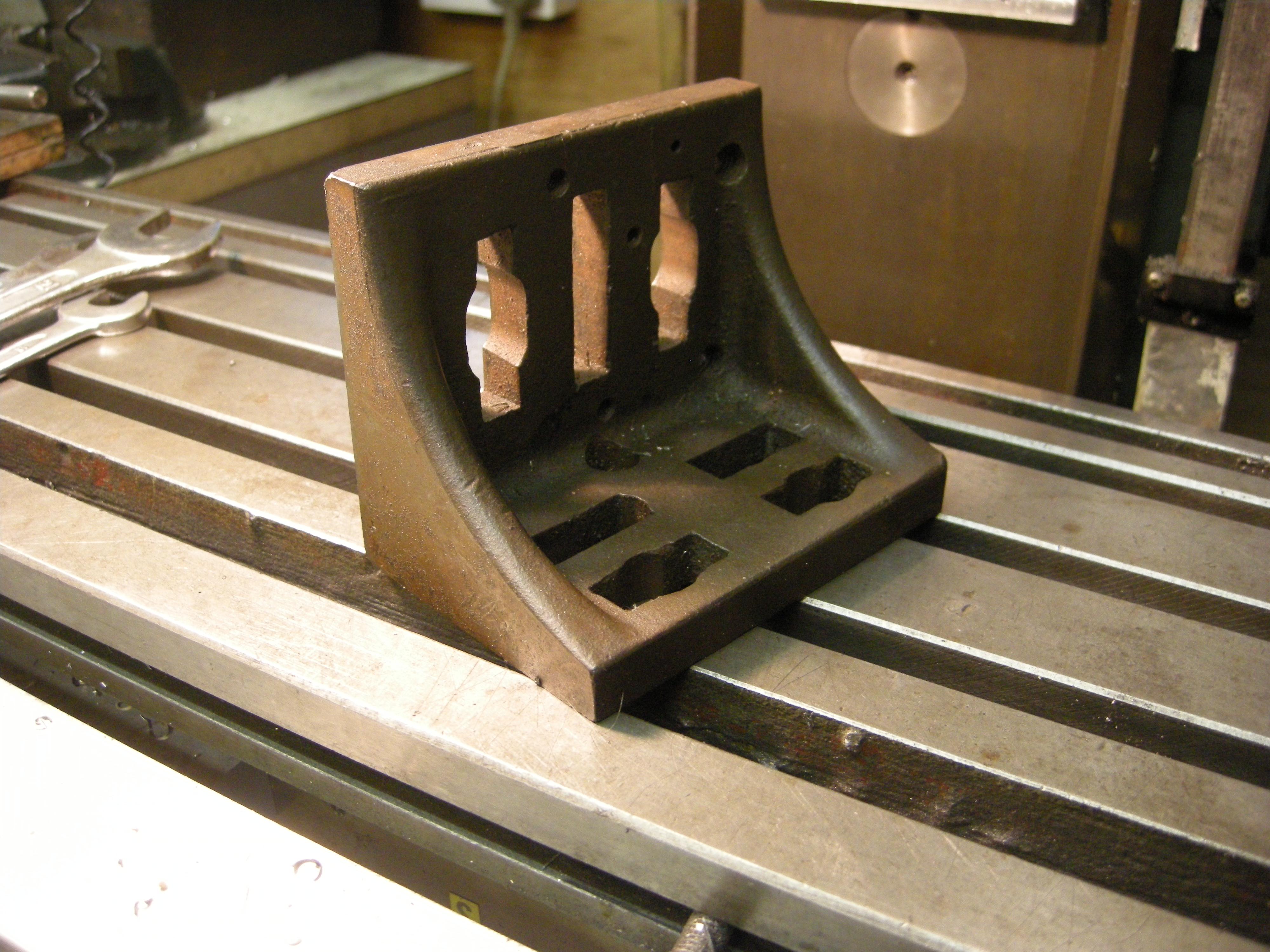 milling machine angle plate