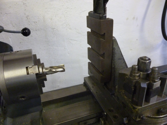 650 lathe used for milling