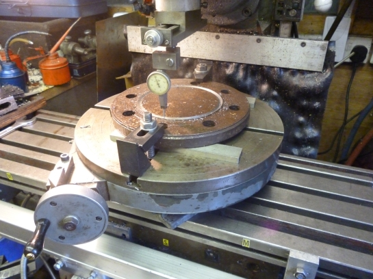 3101 centering the workpiece for trepanning