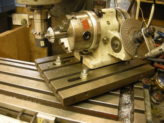 364 bevel gear cut using subtable