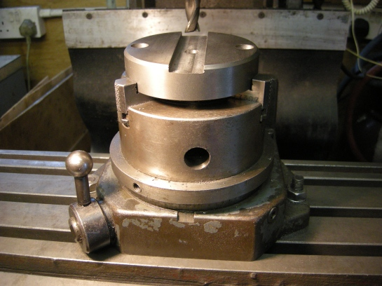 50x indexing 3 jaw chuck