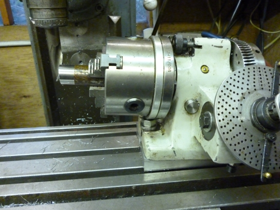 6100 dividing head on wedge