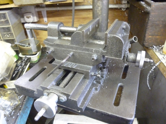 3105 pillar drill with xy table