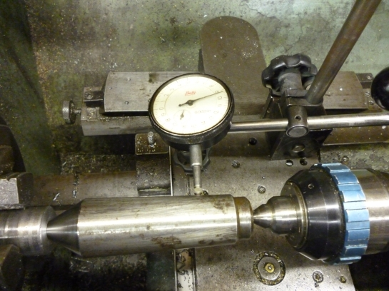 4312 setting up taper turning attachment 2