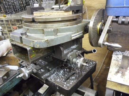 4331 rotary table on pillar drill