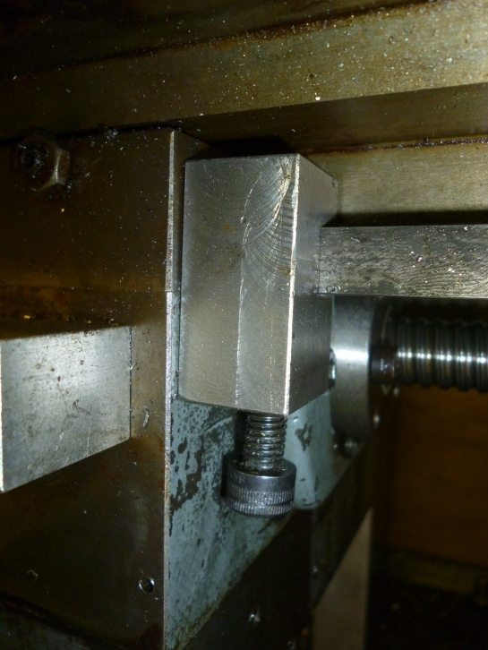 678 table stop fitted