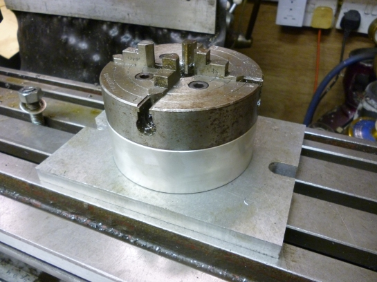 4470 four jaw chuck fixture
