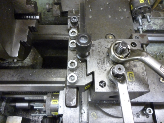 5061 cutting at right angles to the bed
