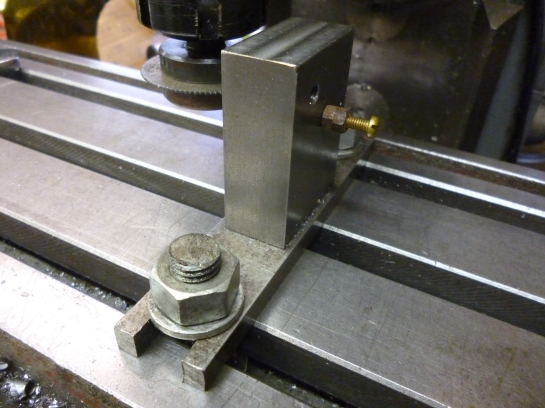 6034 screw head slotting jig - back