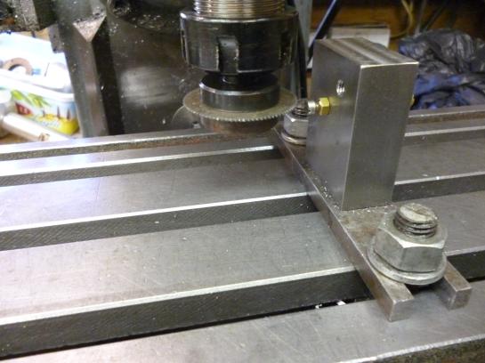 6035 screw head slotting jig