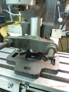 3000 keats block being used on a milling machine