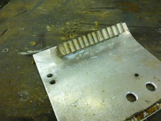 1209 aluminium soldering