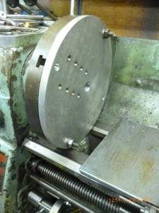 3150 auxiliary plate being used on a face plate