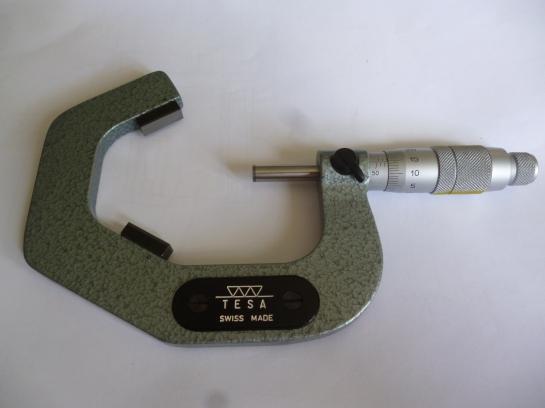 2360 flute micrometer