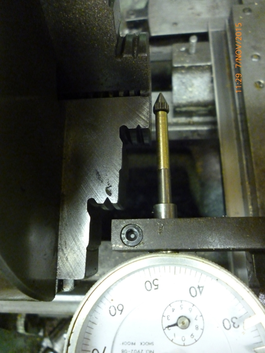 3301 centering a 4 jaw chuck