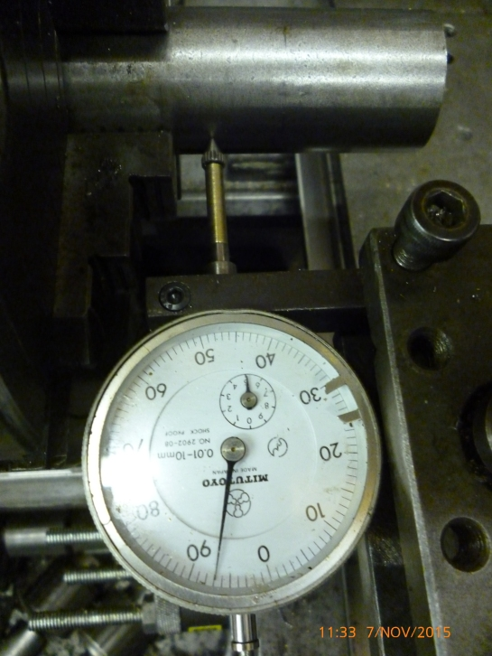 3302 centering a 4 jaw chuck