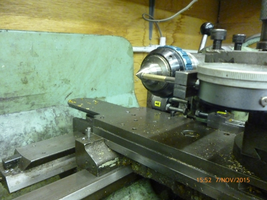 3313 centering a four jaw chuck